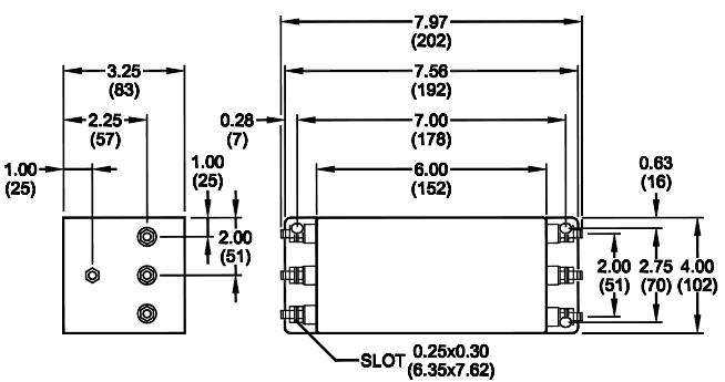 inverter emi filters   rp350 series
