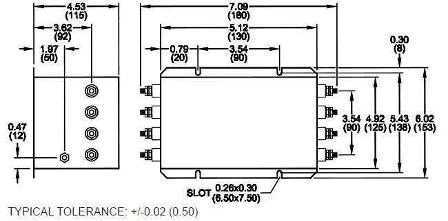 three phase emi filters