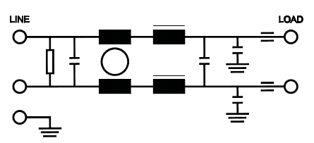 ac coupled wiring diagram with Dc Power Filter on US6909263 as well For Ac   Meter Wiring Diagram moreover Zener Diode Circuit Diagram Pdf as well Diode Bridge Short Circuit in addition Nand Gate Using Diode.